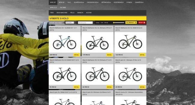Fotografie reference - Tvorba e-shopu – CykloRD