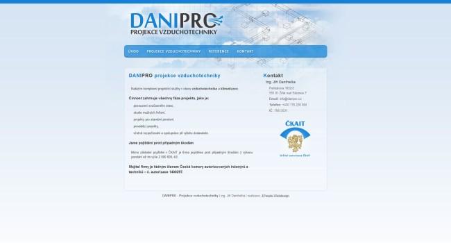 Fotografie reference - Danipro – projekce vzduchotechniky