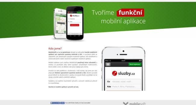 Fotografie reference - Tvorba webových stránek – Mobilesoft