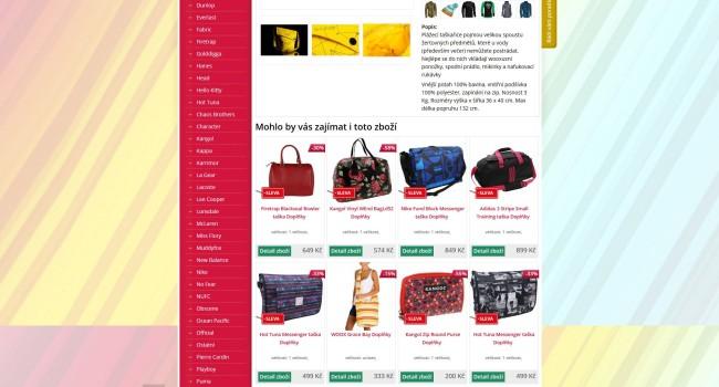 Fotografie reference - Tvorba e-shopu Outletobchod