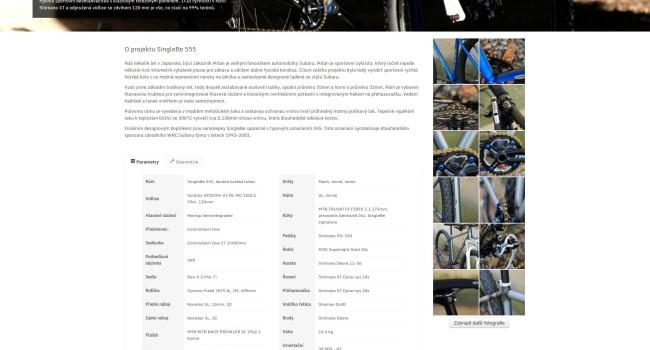 Fotografie reference - Tvorba webových stránek SingleBe