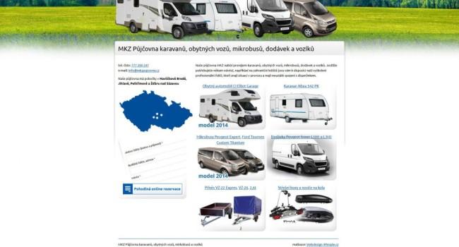 Fotografie reference - Tvorba webových stránek MKZ Půjčovna