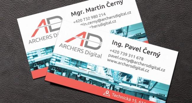 Fotografie reference - Logo a vizitky pro ARCHERS Digital s.r.o.