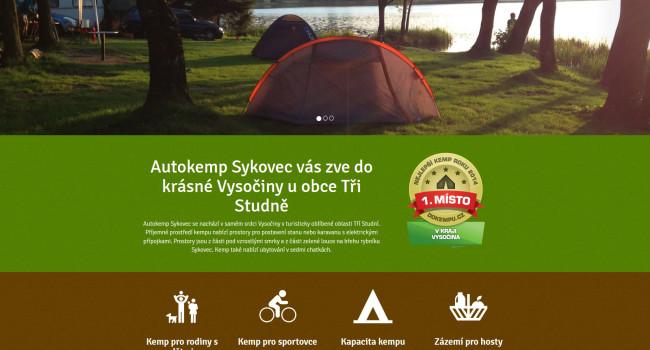 Fotografie reference - Tvorba webových stránek Autokemp Sykovec