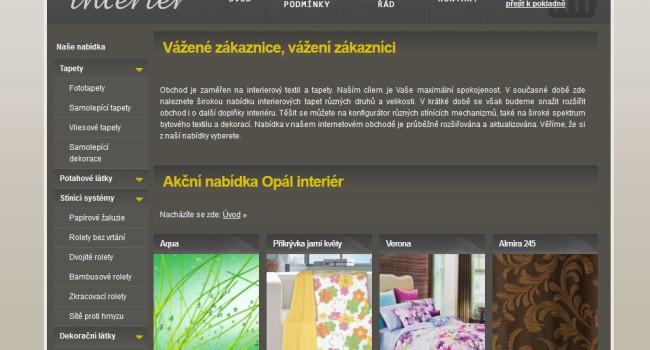 Fotografie reference - Opál interier