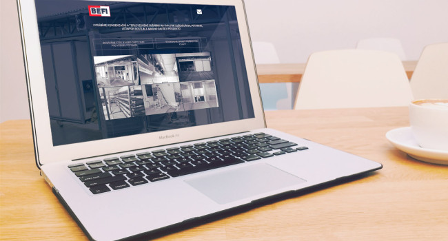Fotografie reference - Realizace mikro webových stránek pro BEFI