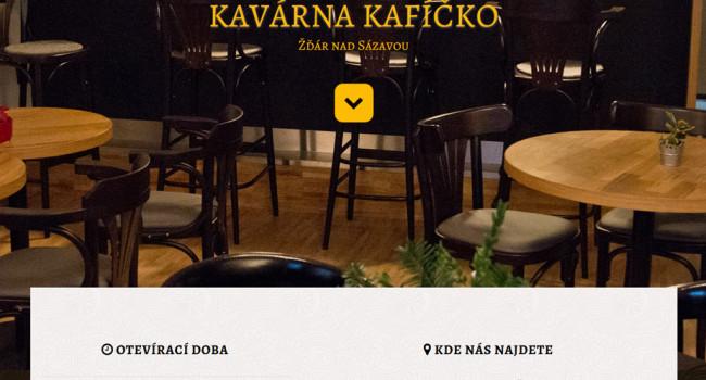 Fotografie reference - Tvorba webových stránek kavárny Kafíčko
