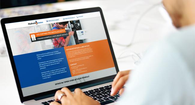 Fotografie reference - Realizace responzivních stránek pro Mudroch instalace