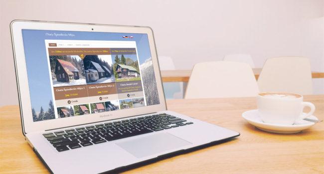 Fotografie reference - Redesign webových stránek a optimalizace