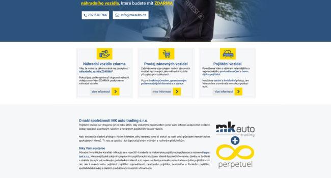 Fotografie reference - Návrh grafiky webových stránek