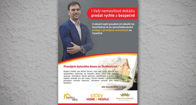 Fotografie reference - Grafický návrh reklamního letáku