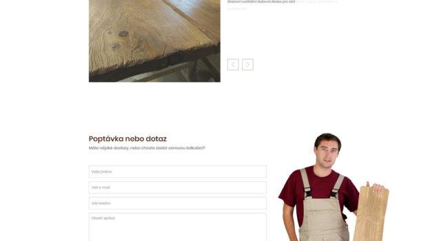 Fotografie reference - Tvorba webových stránek a loga Spárovkárna