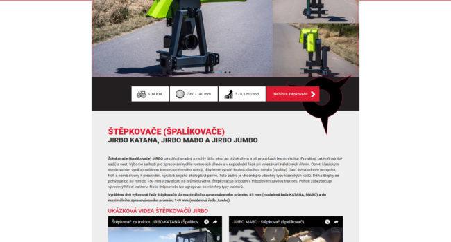 Fotografie reference - Tvorba webových stránek – Jirbo s.r.o.
