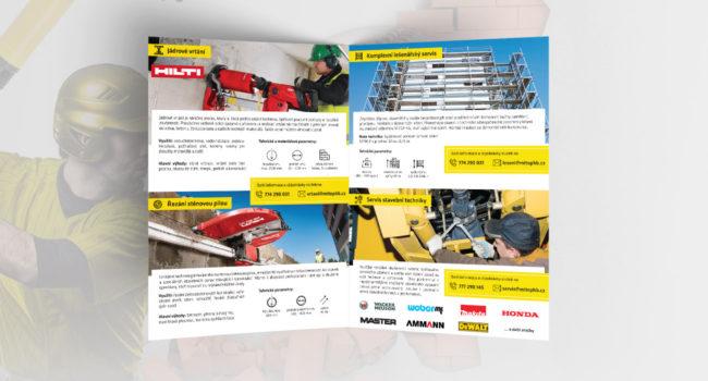 Fotografie reference - Grafický návrh tiskovin a reklamního billboardu