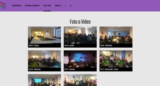 Fotografie reference - Tvorba webových stránek pro Inspiration HUB