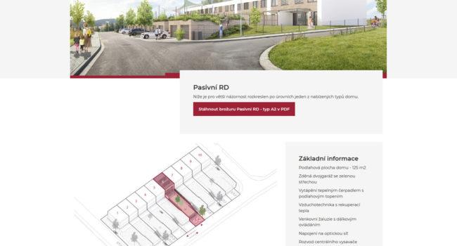 Fotografie reference - Tvorba stránek – Rezidence Višňová
