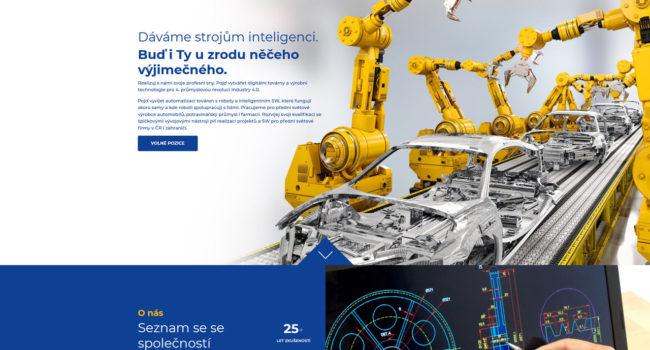 Fotografie reference - Realizace webových stránek – Kariéra Compas automatizace