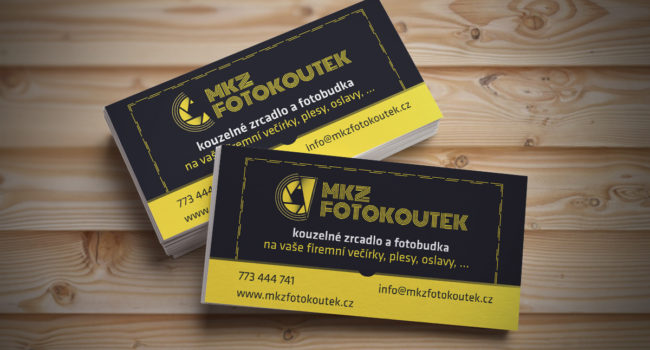 Fotografie reference - Grafický návrh loga, vizitek a reklamních předmětů – MKZ fotokoutek