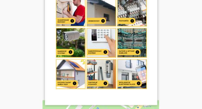 Fotografie reference - Grafický návrh webových stránek – Bureš elektroinstalace
